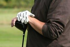 Jogo de golfe Fotografia de Stock