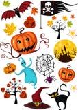 Jogo de Halloween ilustração stock