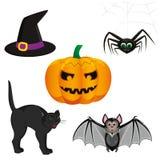 Jogo de Halloween Imagens de Stock Royalty Free