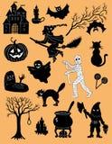 Jogo de Halloween Fotografia de Stock Royalty Free