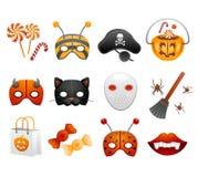 Jogo de Halloween Fotografia de Stock