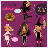 Jogo de Halloween Fotos de Stock
