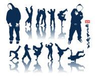 Jogo de Hip-hop Fotografia de Stock Royalty Free