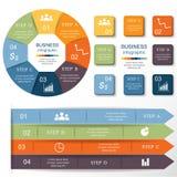 Jogo de Infographics ilustração royalty free