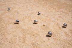 Jogo de jeu de boule Imagem de Stock Royalty Free