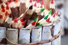 Jogo de lápis da cor. Imagem de Stock