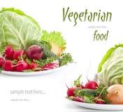 Jogo de legumes frescos Foto de Stock