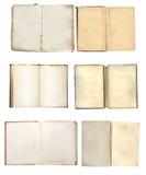 Jogo de livros velhos Imagem de Stock Royalty Free