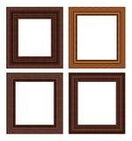 Jogo de madeira do frame Fotos de Stock Royalty Free