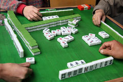 Jogo de Mahjong Foto de Stock Royalty Free