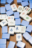 Jogo de Mahjong Foto de Stock