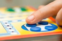 Jogo de mesa Imagens de Stock