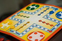 Jogo de mesa Fotografia de Stock