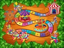 Jogo de mesa Imagem de Stock Royalty Free