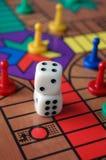 Jogo de mesa pesaroso Fotografia de Stock Royalty Free