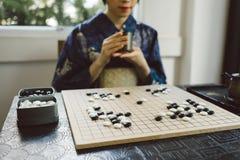 Jogo de mesa tradicional imagens de stock