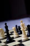 Jogo de mesa - xadrez Foto de Stock Royalty Free