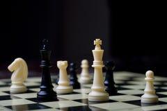 Jogo de mesa - xadrez imagem de stock royalty free