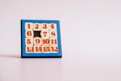 jogo de número Fotografia de Stock