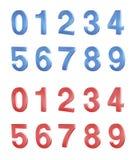 Jogo de números Foto de Stock