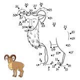 Jogo de números (urial) ilustração do vetor