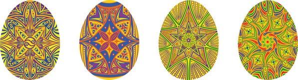 Jogo de ovos de easter Fotografia de Stock Royalty Free
