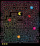 Jogo de Pacman Fotos de Stock Royalty Free