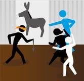 Jogo de partido Fotografia de Stock Royalty Free