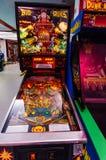 Jogo de pinball Imagens de Stock