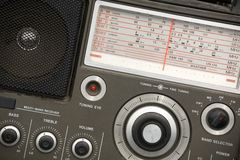 Jogo de rádio velho Imagem de Stock Royalty Free