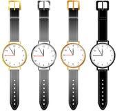Jogo de relógios das mulheres Imagem de Stock Royalty Free