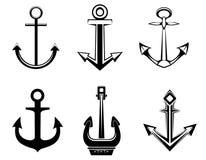 Jogo de símbolos da escora Imagem de Stock Royalty Free