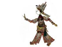 Jogo de sombra, QingShe (serpente verde) Imagens de Stock