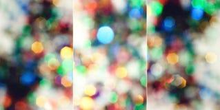 Jogo de sparkles do bokeh. Fotos de Stock Royalty Free