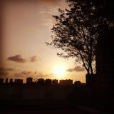 Jogo de Sun Imagem de Stock