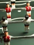 Jogo de tabela do futebol Imagem de Stock Royalty Free