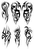 Jogo de tatuagens tribais Imagem de Stock