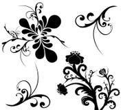 Jogo de testes padrões bonitos Ilustração Stock