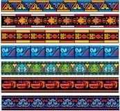 Jogo de testes padrões europeus medievais da faixa Fotos de Stock Royalty Free