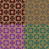 Jogo de testes padrões sem emenda Fotografia de Stock