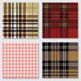 Jogo de testes padrões sem emenda Ornamento de matéria têxtil Fotos de Stock Royalty Free