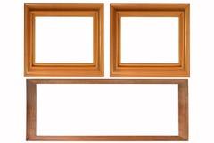 Jogo de três frames da foto Fotos de Stock Royalty Free