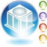 Jogo de unidades do condicionador de ar Fotos de Stock