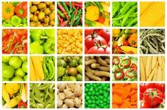 Jogo de vários vegetais Foto de Stock Royalty Free