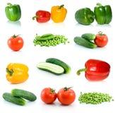 Jogo de vegetais diferentes Imagem de Stock