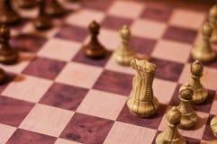 Jogo de Viena na xadrez Imagens de Stock