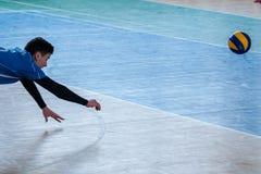 Jogo de voleibol Imagem de Stock
