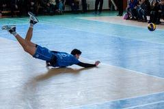 Jogo de voleibol Imagem de Stock Royalty Free