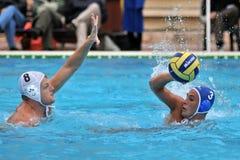 Jogo de Waterpolo Fotos de Stock
