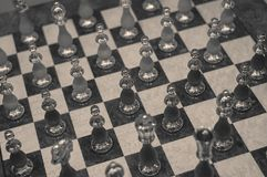 Jogo de xadrez Foto de Stock Royalty Free